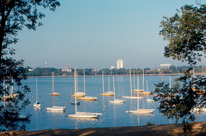 12. Lake Calhoun looks as gorgeous as ever in this September 1969 shot.