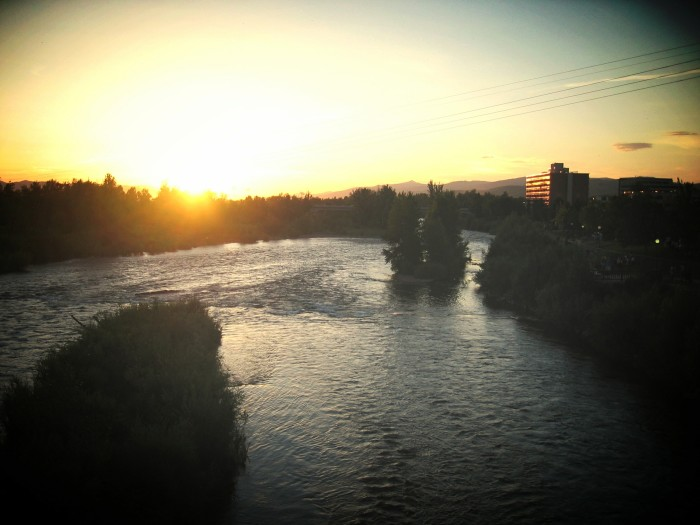 "8. ""Missoula sunset"""