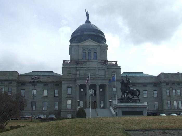 9. Tour the Montana State Capitol.