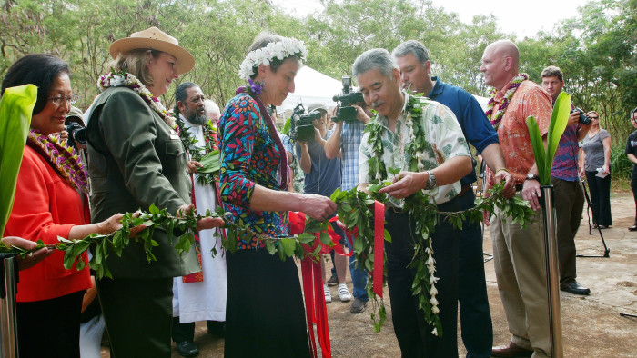 After effort to learn more about the site by Japanese Cultural Center of Hawaii staff, the National Park Service took notice, and Honouliuli was dedicated as a national monument on March 31, 2015 in a ceremony at the Cultural Center.