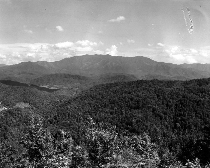 1. Mt. Leconte, circa 1960.