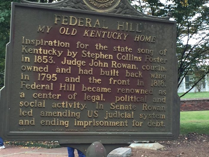 8. My Old Kentucky Home State Park at 501 E Stephen Foster Ave in Bardstown
