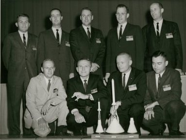 1. This is a NASA astronaut group in 1962.