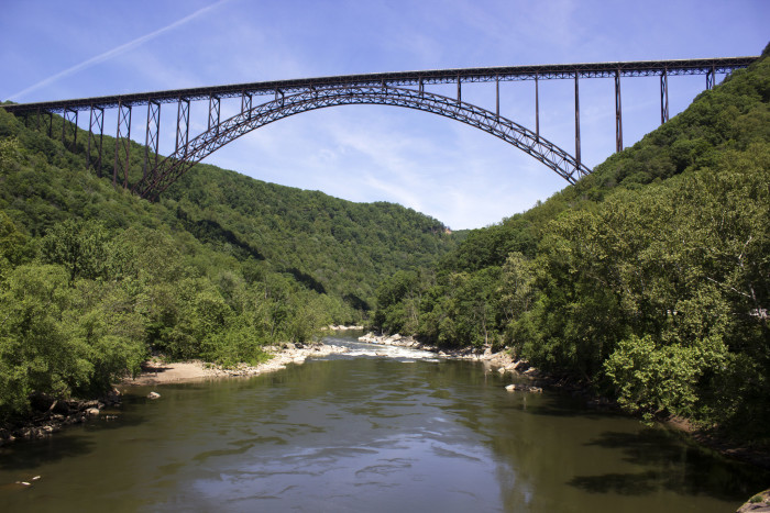 3. The New River Gorge Bridge