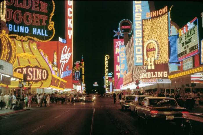 1. Fremont Street, 1960s - Las Vegas, NV
