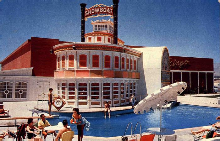 3. Showboat Hotel and Casino, 1961 - Las Vegas, NV