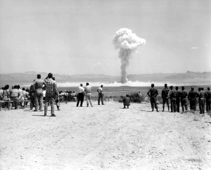 11. Operation Sunbeam, 1962 - Nevada Test Site