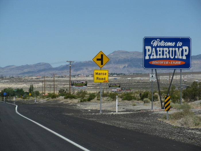 7. Pahrump - Population 35,061 / Crime Index - 33