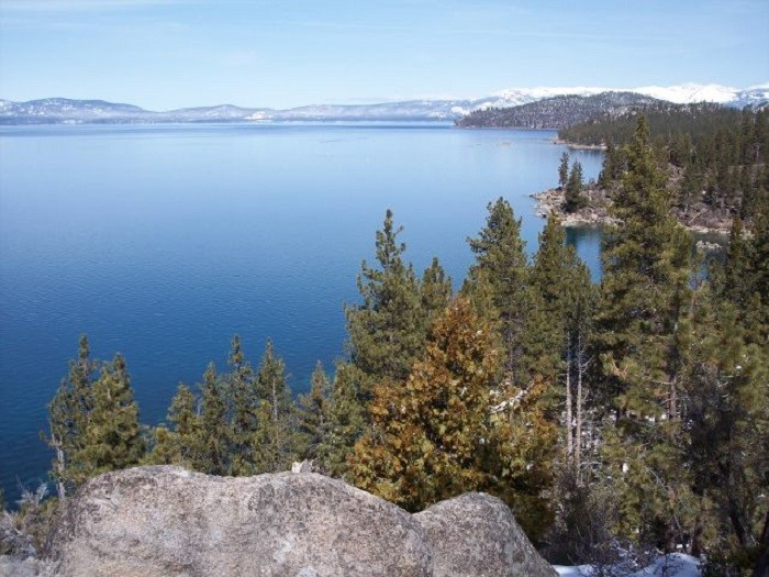 10. America's largest alpine lake is right here in Nevada.