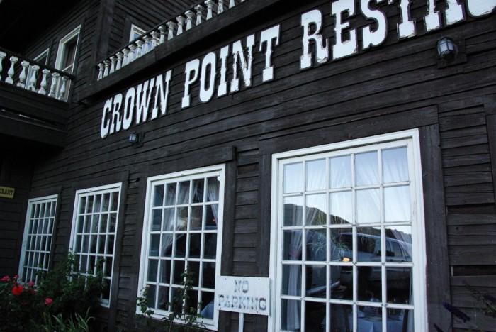 8. Crown Point Restaurant - Gold Hill, NV