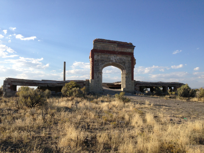 Ruins of the Lincoln School: