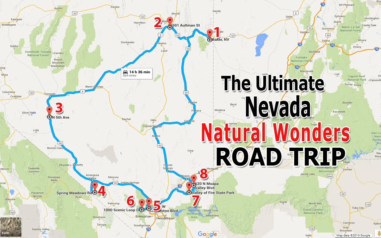The Ultimate Nevada Natural Wonders Road Trip on