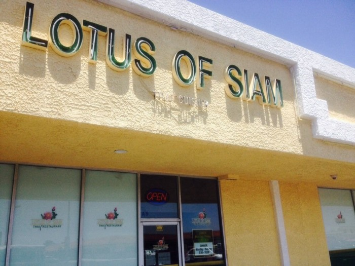 9. Lotus of Siam - Las Vegas
