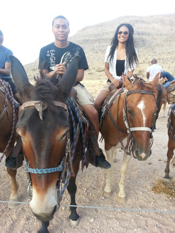 8. Take to the trails and go horseback riding.