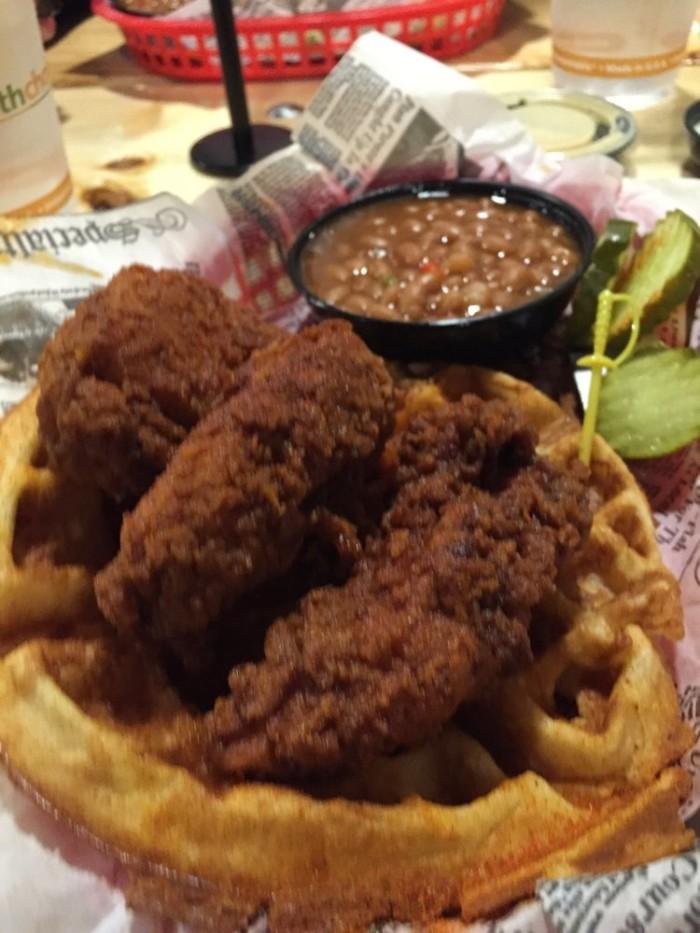 Nashville Hot food.