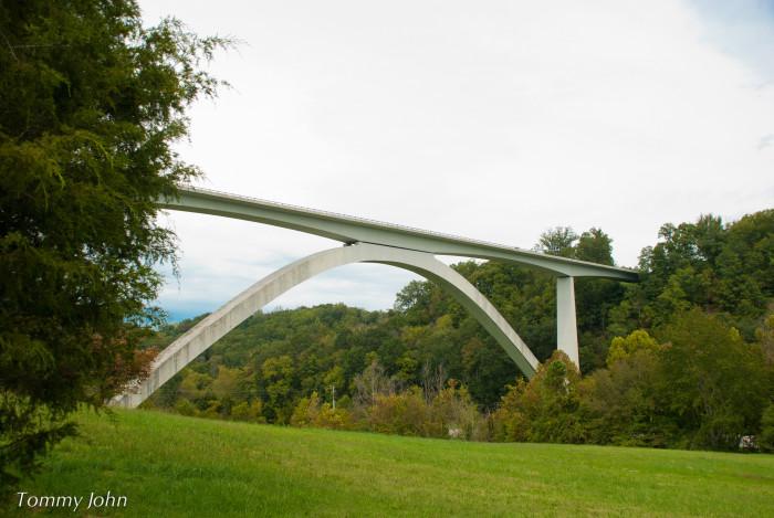 2. Natchez Trace Bridge - Franklin