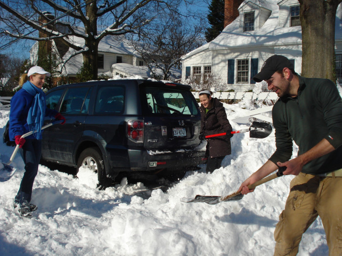 10. When you love living in a place where people are always happy to help out a neighbor.