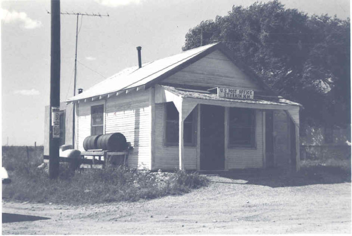 14. During the 1970s, St. Vrain, located in Curry County, still had a post office.