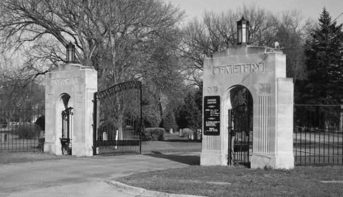 1. Riverside Cemetery - Fargo