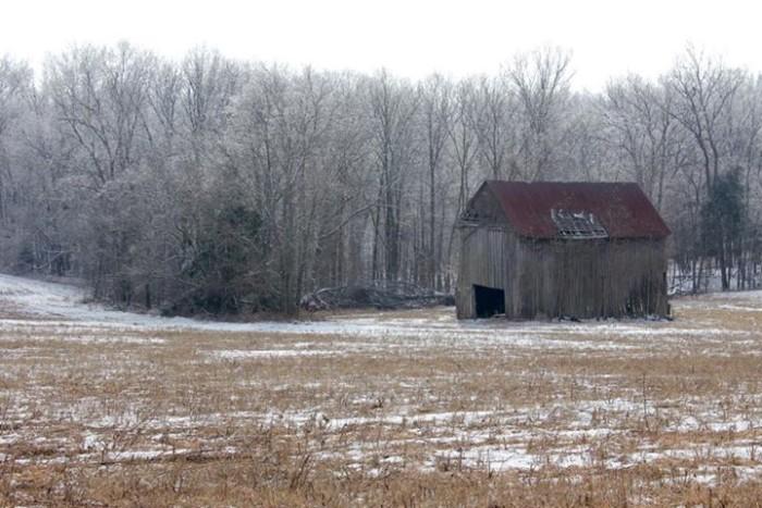 18. Old barn