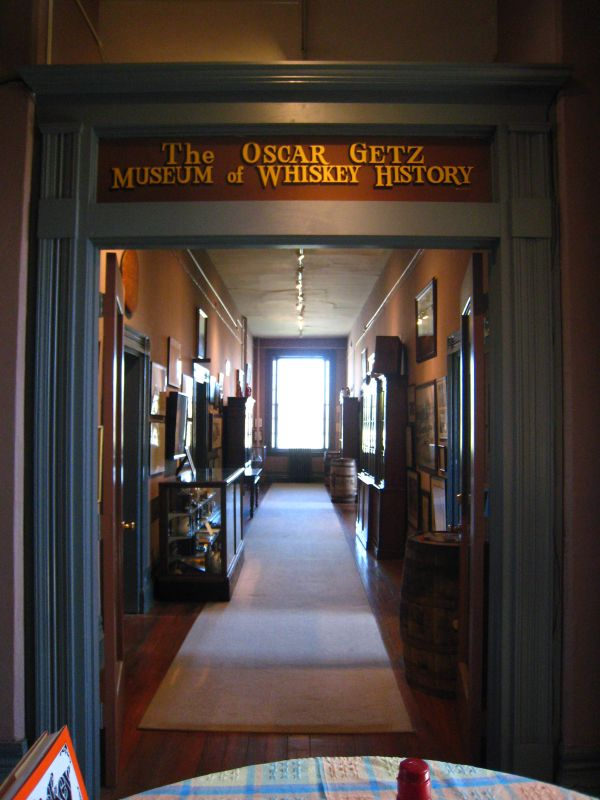 6. Oscar Getz Museum of Whiskey History on 114 N 5th Street in Bardstown