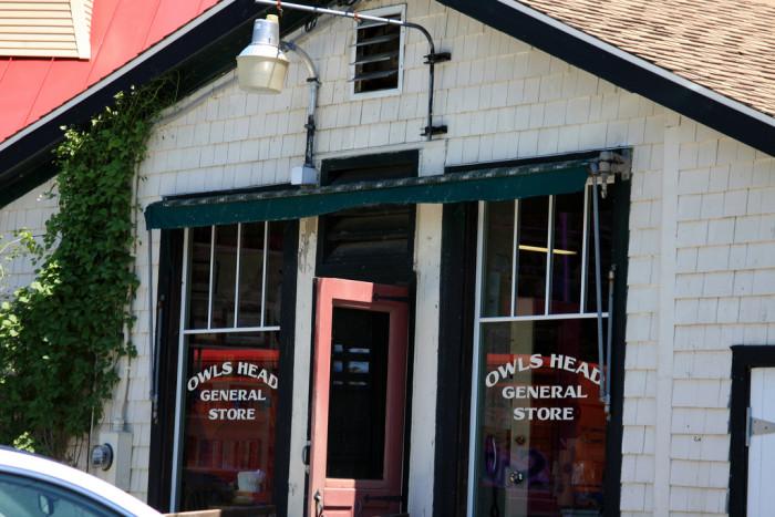 7. Owls Head General Store