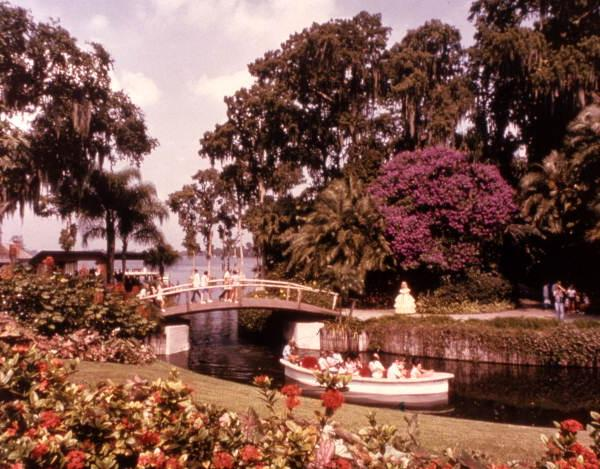 1. Stroll through Cypress Gardens in Winter Haven.