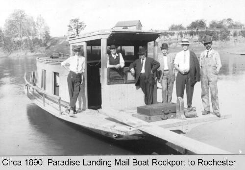 Paradise Landing Mail Boat: