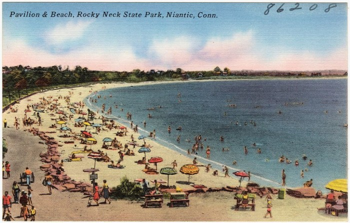 Even in the 1930s this place was worthy of postcards.