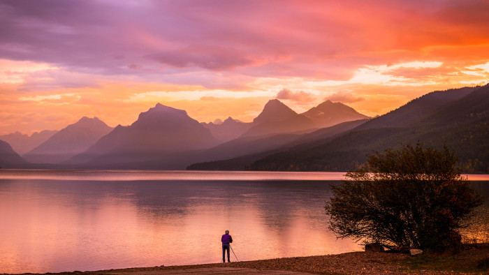 "2. ""Photographer's sunrise,"" Glacier National Park"