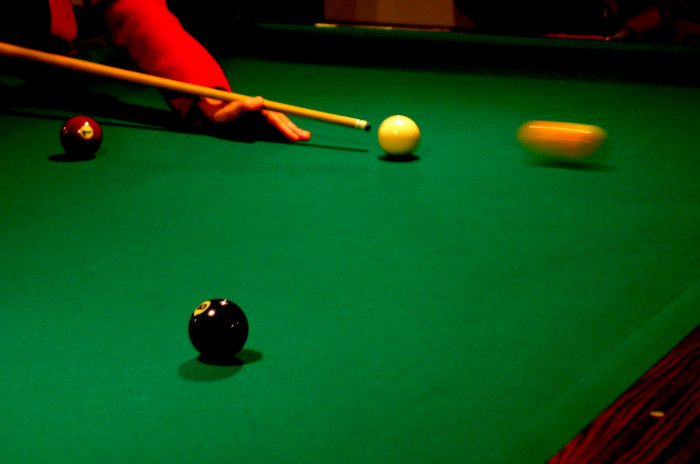6. Pool tables in billiard halls must be viewable from the street.