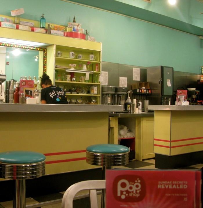 Pop Shop Interior