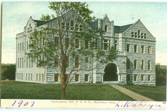9. Kansas State Horticultural Hall (1907)