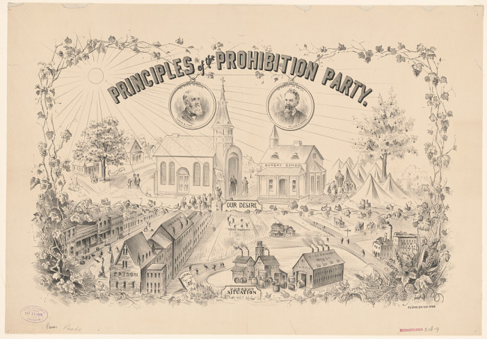 Prohibition Party : Tomlinson Hall 1888