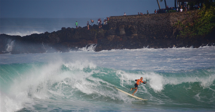 The Eddie is the original big wave riding competition, and is the ruler against which every big wave surfing event in the world is measured.
