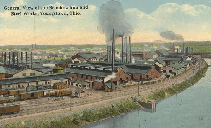 RepublicIron&SteelWorks_YoungstownOH_1900s