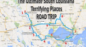 The Ultimate Terrifying South Louisiana Road Trip Is Right Here — And You'll Want To Do It