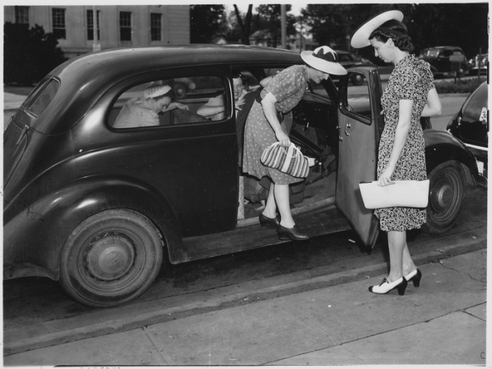 1. These fancy friends are hanging out in Rockville, in 1942.