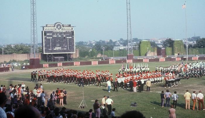 7. Roosevelt Stadium in Jersey City circa 1972.