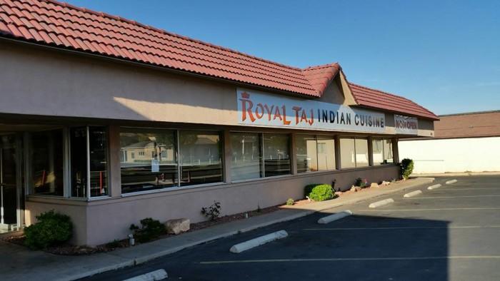11. Royal Taj Indian Restaurant, St. George