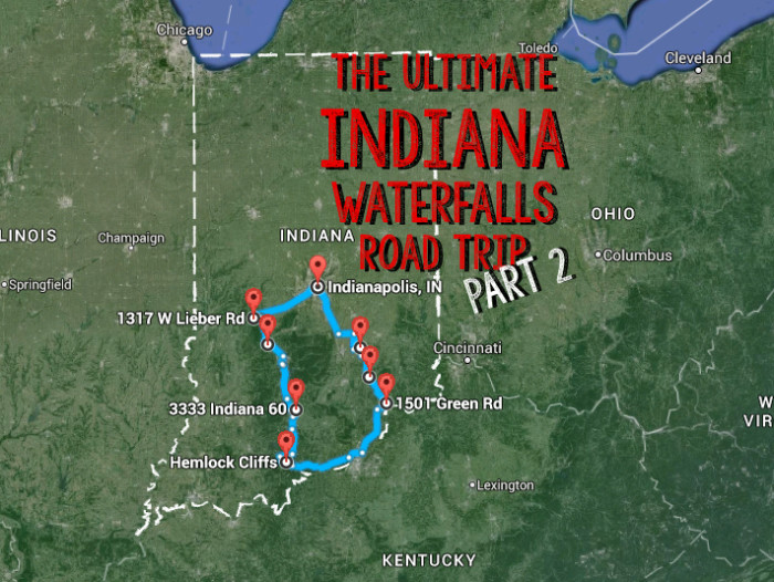 The Ultimate Southern Indiana Waterfalls Road Trip