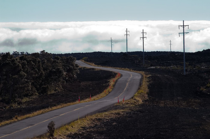 """Also known as the Daniel K. Inouye Highway, Route 200 reaches a maximum elevation of more than 6,600 feet and provides access to the volcano observatories that branch off the road. The highway received its nickname for being the """"saddle"""" in between the Mauna Loa and Mauna Kea volcanoes."""