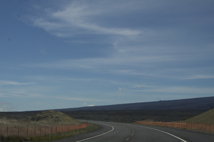 In 1943, the United States Army built an access road for military vehicles in order to better defend the island in the wake of the attack on Pearl Harbor. Following the end of World War II, the Army gave jurisdiction to the Territory of Hawaii, and it became State Route 20. The territory, however, had little funds to maintain the road, and for several years, minimal maintenance was provided for the road.
