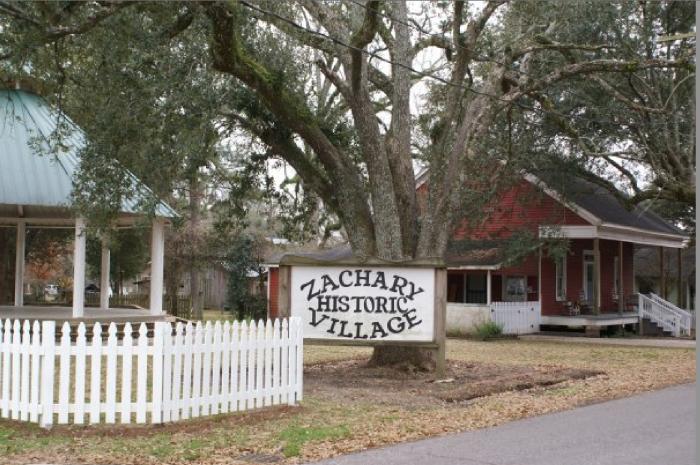 3. Zachary Historic Village