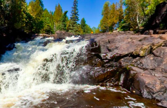 Waterfalls cascade down the entire canyon, and although the trails can be steep, they offer what are undoubtably some of the most amazing views in Minnesota.
