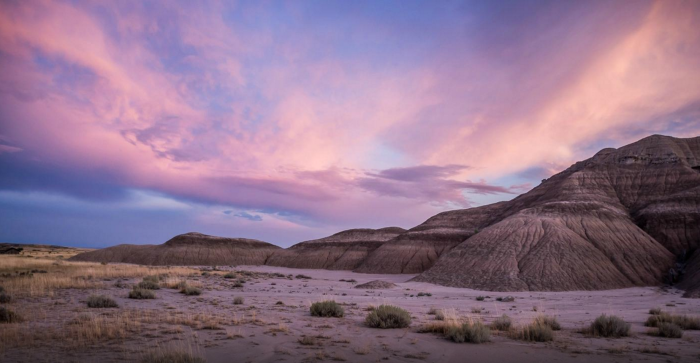 Nighttime may be the best time to experience this incredible landscape.