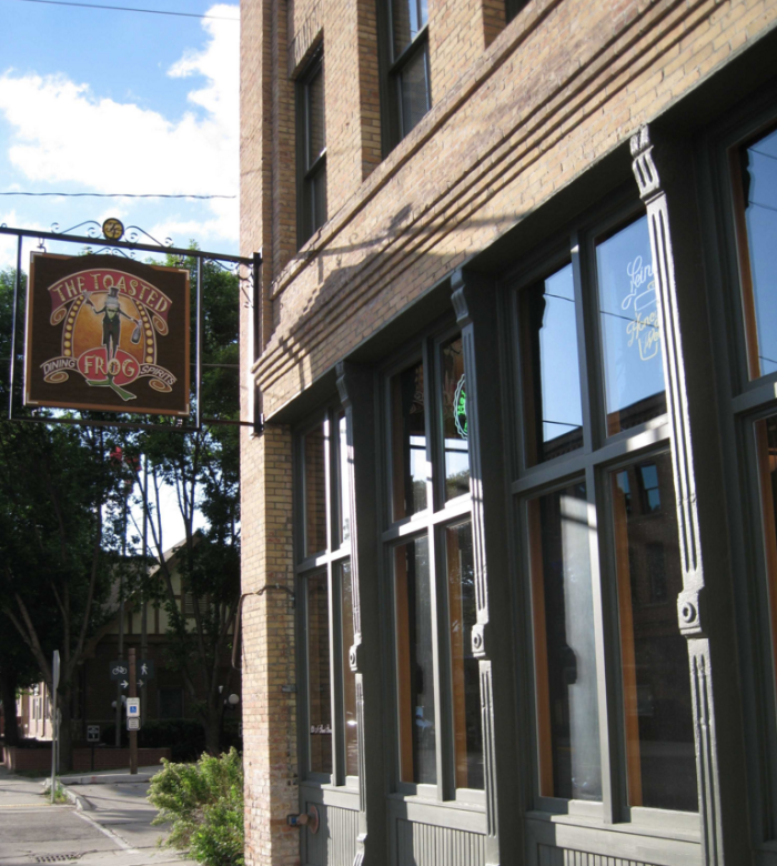 2. The Toasted Frog - Grand Forks, ND