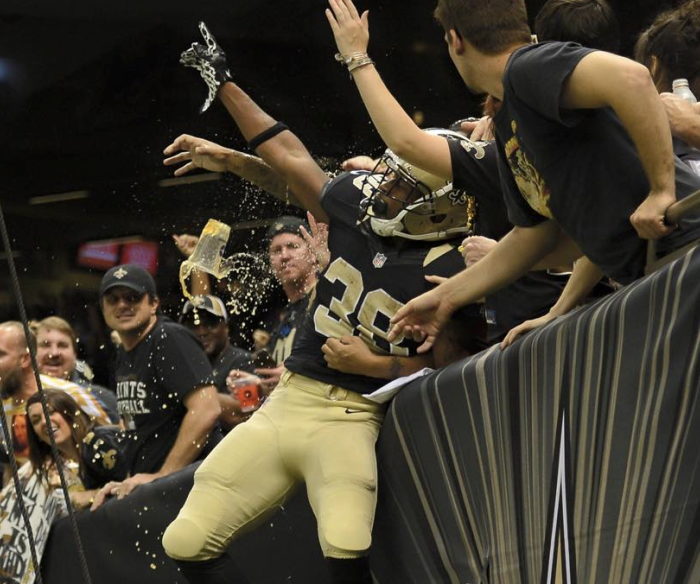 6. Go see the Saints play in the Superdome