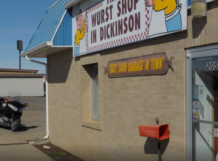 5. The Wurst Shop - Dickinson, ND