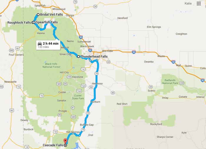 The Ultimate South Dakota Waterfalls Road Trip